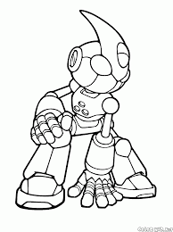 coloring page emerl
