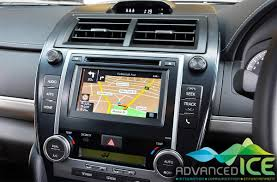 toyota integrated navigation system
