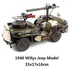 willys army jeep 1940 willys jeep wwii united states army fine version handmade