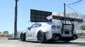 nissan gtr drift car ben sopra nissan gtr drift handling liveries gta5 mods com