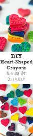 diy heart shaped crayons silicone baking mold broken crayons