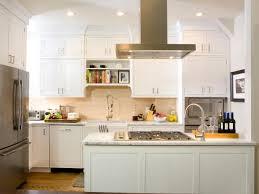 Bright And White Kitchens HGTV - Kitchen white cabinet
