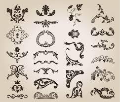 vintage design free vintage design floral pattern vector free
