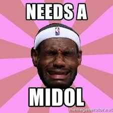 Midol Meme - needs a midol lebron james meme generator