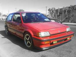 Honda Civic Si 1986 1987 Civic Si U2014 Otopan