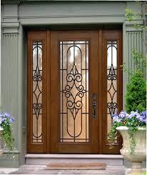 Side Window Curtain Rods Front Door Trendy Front Door Side Curtain For Home Design Front