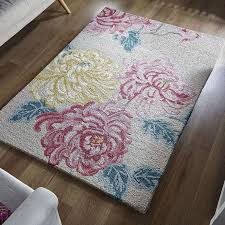 Floral Pattern Rugs Kyoto Floral Wool Rug Dunelm New Lounge Pinterest Kyoto