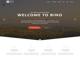 bino u2013 free html5 landing page template designstub