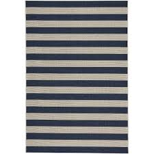 Navy Outdoor Rug 4 X 6 Small Striped Navy Indoor Outdoor Rug Finesse Rc Willey