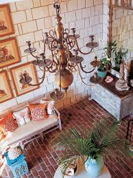 setting a room s mood with color hgtv mediterranean entryway with coastal touches