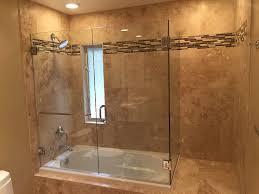 Glass Shower Doors San Diego Shower Shower Doors And Enclosures Frameless Glass Enclosure For