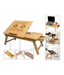 Bed Table Online Shopping In India Wooden Portable Multipurpose Laptop Table Buy Wooden Portable