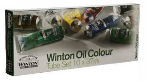 winsor u0026 newton winton 10x 37ml oil colour tu whsmith
