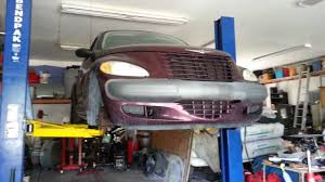 pt cruiser install of the lower control arm u0027s youtube