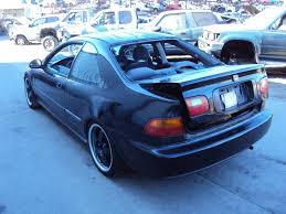 1995 honda civic 2 door cpe dx model 1 5l mt 2wd color black
