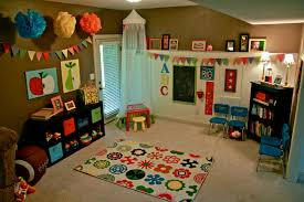 great playroom design for children and adults in colorful