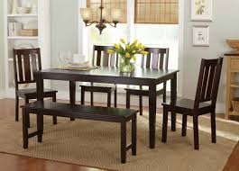 Walmart Dining Room Chairs by Better Homes And Gardens Bankston 6 Piece Dining Set Mocha