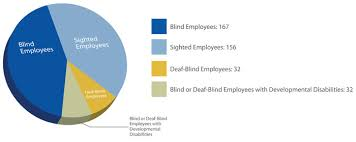 Blind Chart Expanding Employment Opportunities The Lighthouse For The Blind