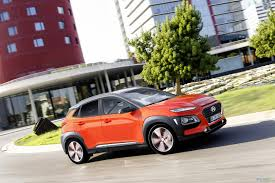 hyundai crossover new hyundai kona crossover will also have electric drive driving