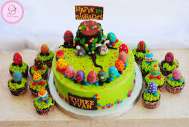 Decorate Easter Cakes Cupcakes by Easter Themed 1st Birthday Cake Cupcakes For Yuree Yvan U2013 Aj