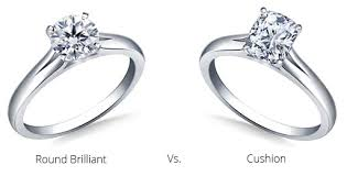 cushion ring cushion cut engagement rings info on diamonds quality and value