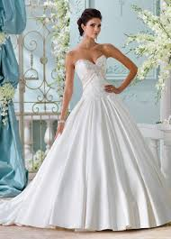 box pleated satin wedding dress with beading u0026 pockets 116200 heloise