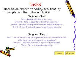 pizza fractions web quest ppt download