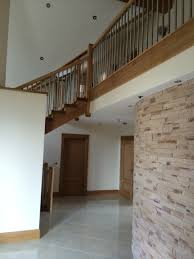 unique solid oak stairs knottown joinery ireland