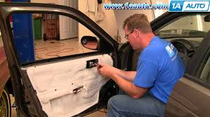 nissan versa door handle how to install replace inside door handle nissan sentra 04 06