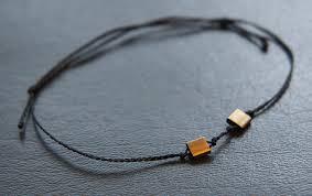 beaded braided bracelet images Braided bracelet brass beads 1 faunauge jpg