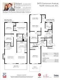 shaughnessy floor plan 3470 carnarvon ave alexander homes