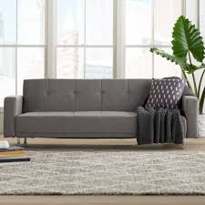 furniture simply grey sears sofa bed with wood legs for home