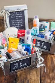 bathroom boxes baskets learn how to make your own bathroom emergency kit diy wedding