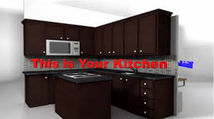 Ranch Style Kitchen Cabinets by Furniture Inspiring Kitchen Design With Peru Lafata Cabinets With