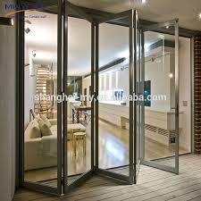 Patio Bi Folding Doors Exterior Bifold Door Wholesale Bifold Door Suppliers Alibaba