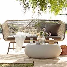 pebble outdoor coffee table pebble outdoor coffee table west elm