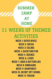 Backyard Kid Activities by Best 25 Summer Camp Activities Ideas Only On Pinterest Nanny
