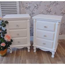 shabby chic side table shabby chic bedside tables bed side table in bed room