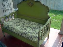 Bench Made From Bed Headboard Best 25 Headboard And Footboard Ideas On Pinterest Refurbished