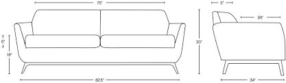 average couch depth sofa length adrop me