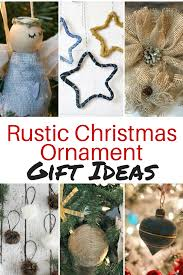 rustic ornament gift ideas of diy