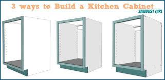 Kitchen Cabinet Construction by Kitchen Cabinet Construction Plans Cabinets From Scratch Xcyyxh