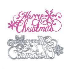aliexpress com buy merry christmas metal dies cutting decoration