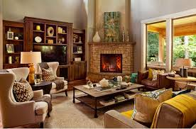 Architecture Living Room Decor Corner Fireplace Decorating Ideas