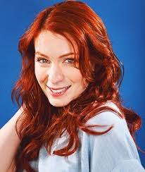 what is felicia day s hair color felicia day played vi a slayer potential and penny on dr