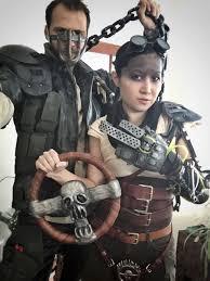 Achilles Halloween Costume Mad Max Fury Road Halloween 2015 Couples Costume Furiosa Cosplay
