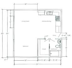 Apartment Over Garage Floor Plans 100 24x24 Floor Plans Wood Frame House Floor Plans 24x24 2