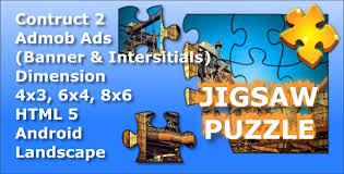 android puzzle jigsaw puzzle html5 mobile android admob ads by masfran
