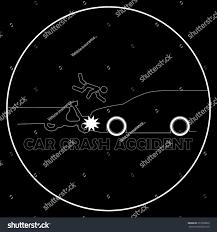 devil z crash car crash motorcycle accident stock vector 373230856 shutterstock