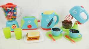Deluxe Kitchen Play Set by Just Like Home Kitchen Appliance Deluxe Full Set Slime Playdoh